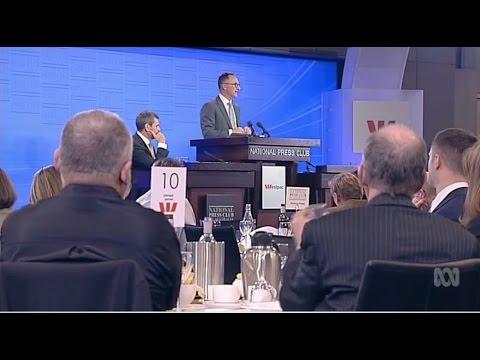 Richard Di Natale -  National Press Club Addresss