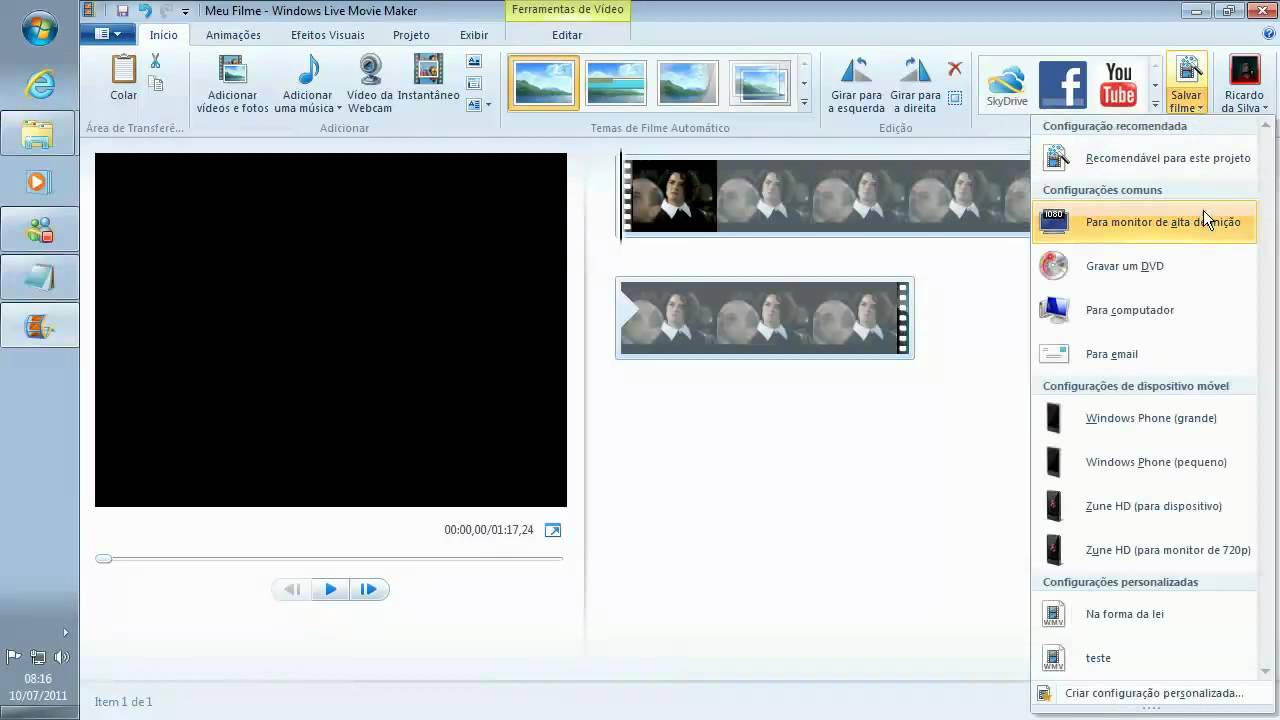 Windows movie maker online converter