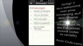 Tutorial: Mit der iPhone App