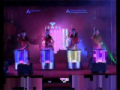 Beijing Impression Event Management Laser Drum YouTube
