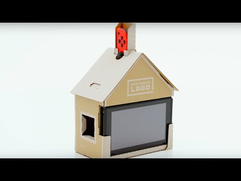 Download Youtube: Nintendo Labo Switch - Announcement Trailer