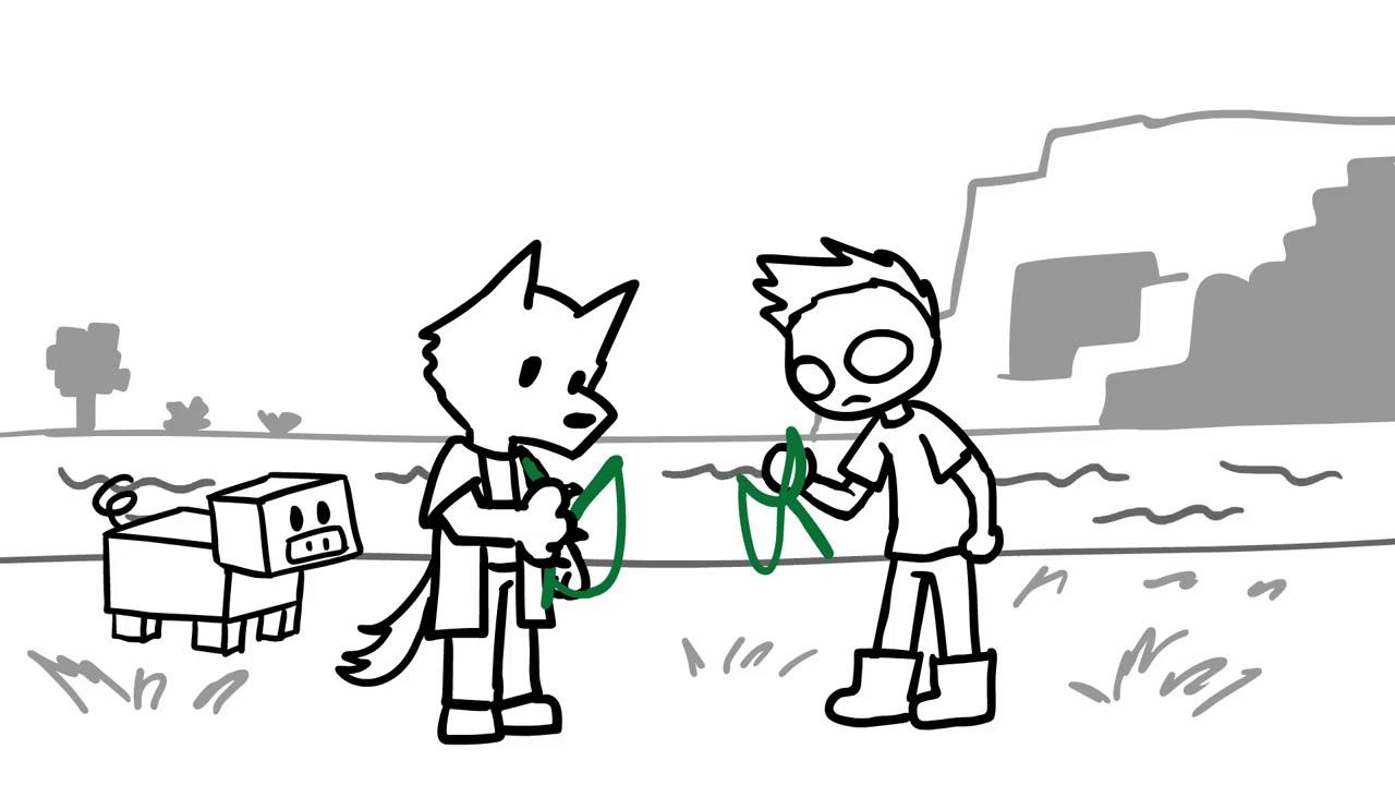 EL MEJOR ITEM DE MINECRAFT (DeiGamer Animación)