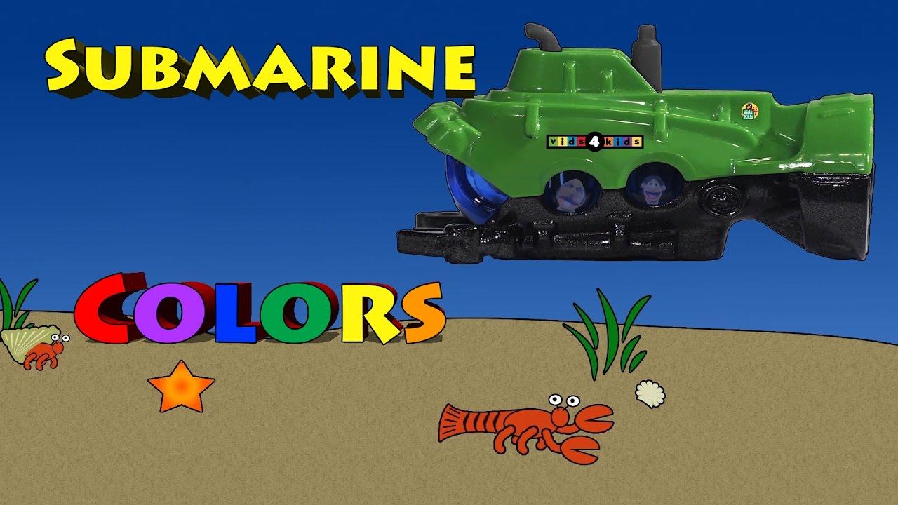 U-Boot-Farben mit Timmy und Opa - YouTube