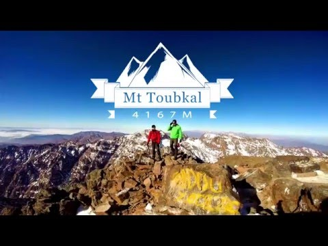 Mt Toubkal Winter Ascent, Atlas Mountains, Morocco (4167m)