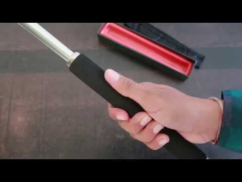 Self Defence Collapsible Folding Rod Or Stick For Car Bike Home