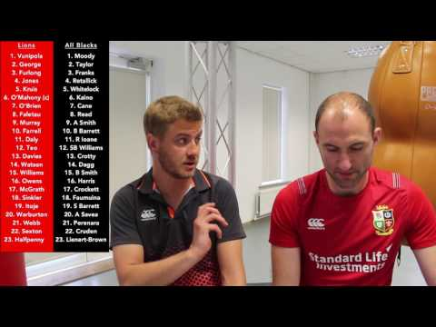 British & Irish Lions vs All Blacks 1st Test  Team Selection Reaction  RugbyAnalyst