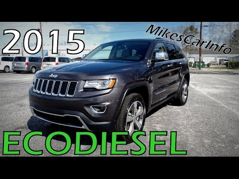 2015 Jeep Grand Cherokee Limited Ecodiesel