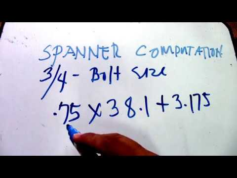 How To Solve PCIT, PCOT, Spanner Size, and Angle using 1 414