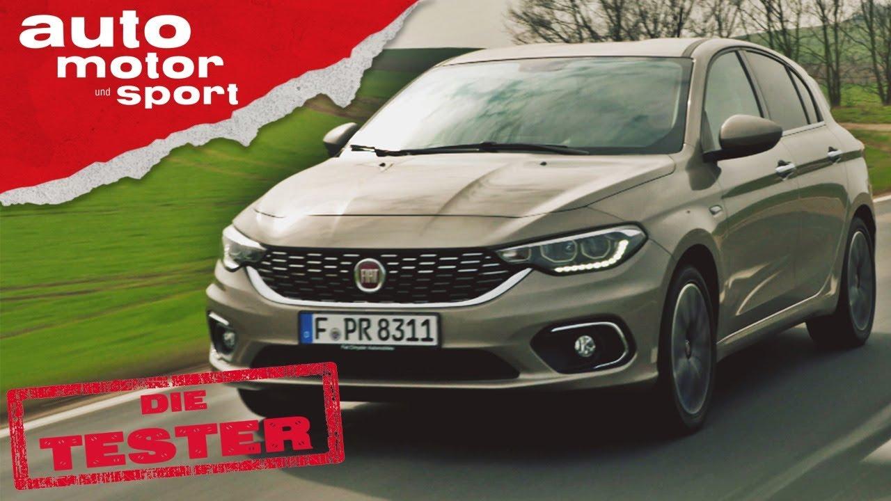 Fiat Tipo 1.4 T-Jet : Ist Geiz wirklich geil? - Die Tester | auto motor und sport