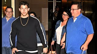 Nick Jonas With Full Family Arrives In Mumbai For Engagement With Priyanka Chopra