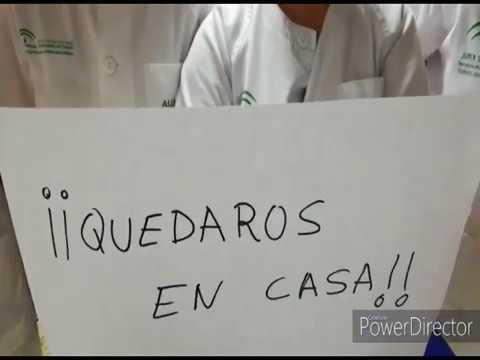Vídeo de agradecimiento de los sanitarios del Punta Europa