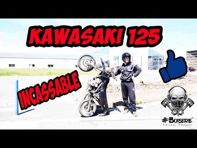 la moto la plus solide du monde ! (kawasaki d-tracker)