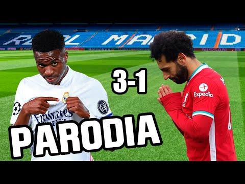 Canción Real Madrid vs Liverpool 3-1 (Parodia Wisin, Jhay Cortez, Los Legendarios - Fiel)
