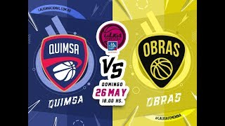 #LaLigaFemeninaLaCaja | 26.05.2019 Quimsa vs. Obras Basket thumbnail
