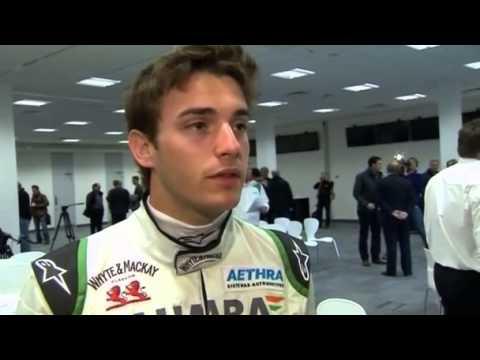 Nach Unfall in der Formel 1