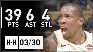 Eric Bledsoe Full Highlights Bucks vs Lakers (2018.03.30) - 39 Pts, 6 Ast, 4 Stl!