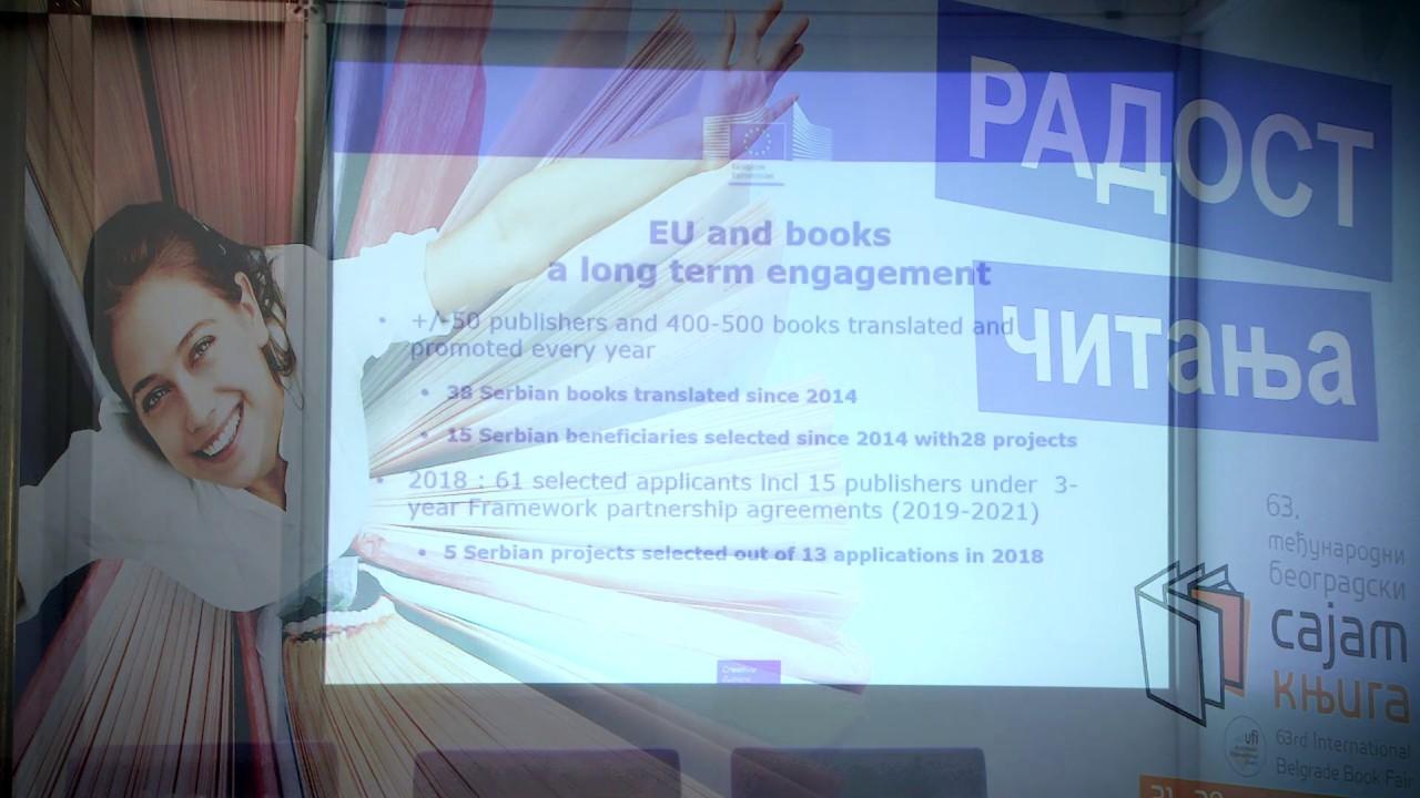 SezamBook  and EACEA Presentation