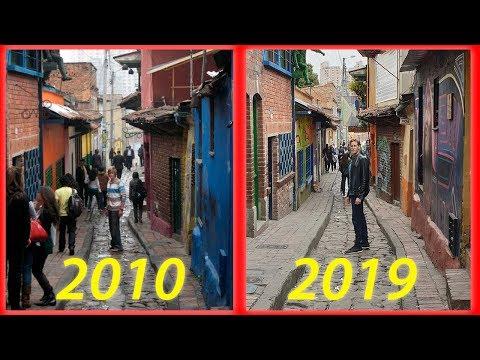 Bogotá: THEN & NOW