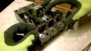 Советский автоматический выключатель. Обзор и ремонт.