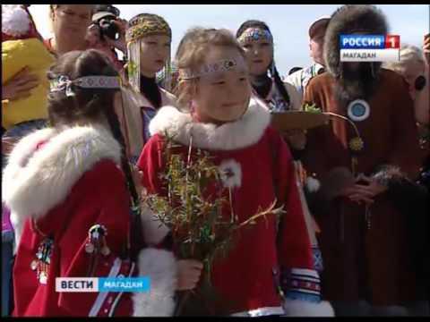 На Колыме отметили эвенский праздник встречи «Бакылдыдяк»