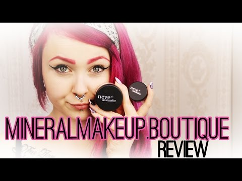 ♥ Mineralmakeup.boutique - NeveCosmetics  REVIEW ♥