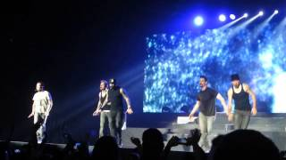 Backstreet Boys - Larger than life + ending live in Minsk, Belarus 24.02.2014