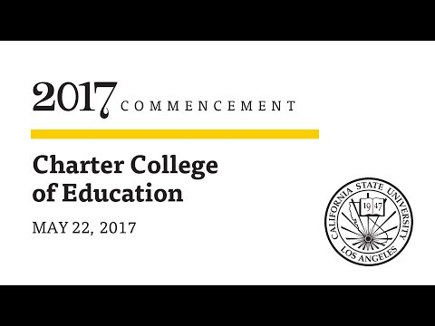 Ceremony 9  ǀ  6 p.m.  ǀ  Charter College of Education