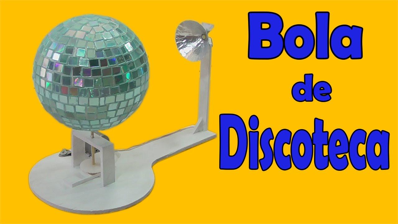 C mo hacer una bola de discoteca casera muy f cil de for Como construir piletas de material
