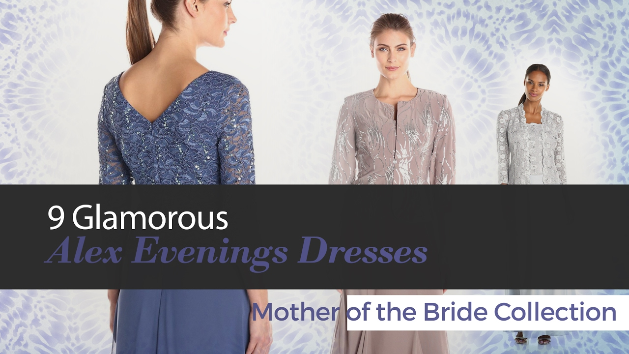 Alex Evenings Mother of the Bride Dresses Collection - YouTube