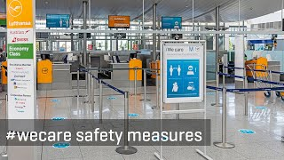 #wecare safety measures at Munich Airport