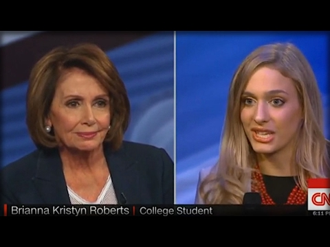 FIRE HER! WHAT NANCY PELOSI TOLD THIS COLLEGE STUDENT WILL GET HER FIRED!