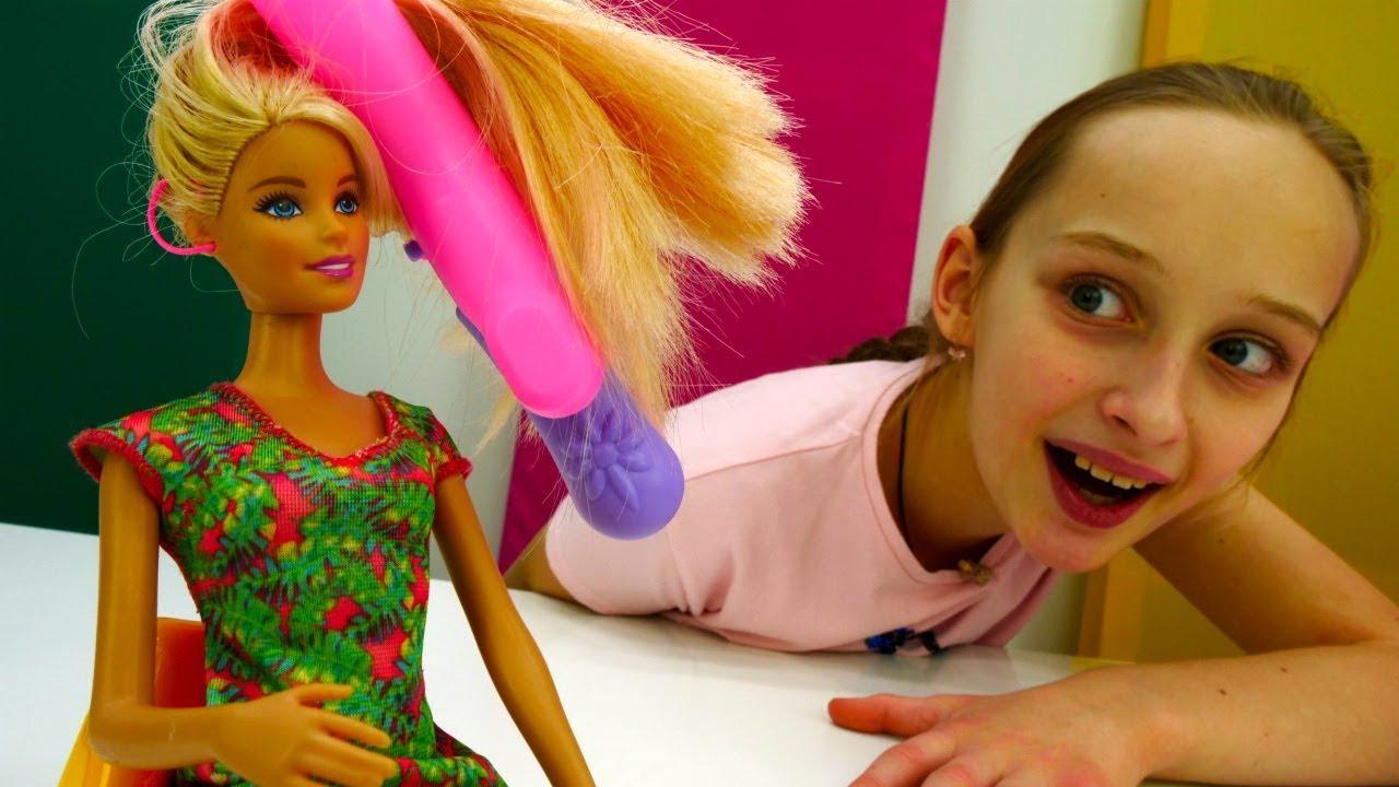 Игры для девочек - Барби собирается на свидание с Кеном ...