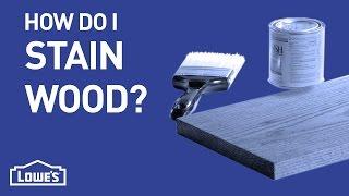 Wood Staining 101 | DIY Basics