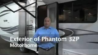 Phantom 32p  Exterior - 2012 Class C Motorhome Floor Plan W\ Bunk Beds - Rv For Sale, Hgtv Reviewed.