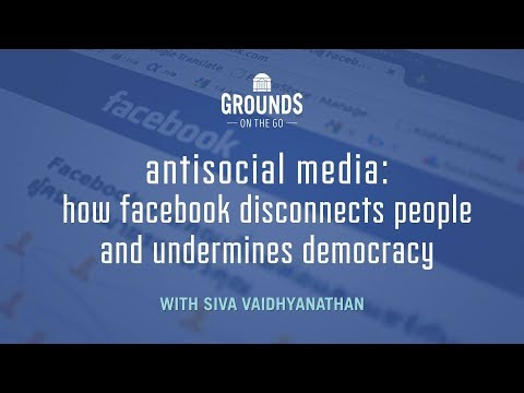 Antisocial Media: How Facebook Disconnects People And Undermines Democracy
