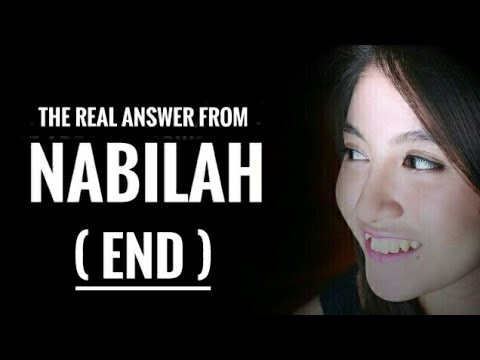 Jawaban dari Seorang Nabilah (END)   Nabilah Ratna Ayu Azalia