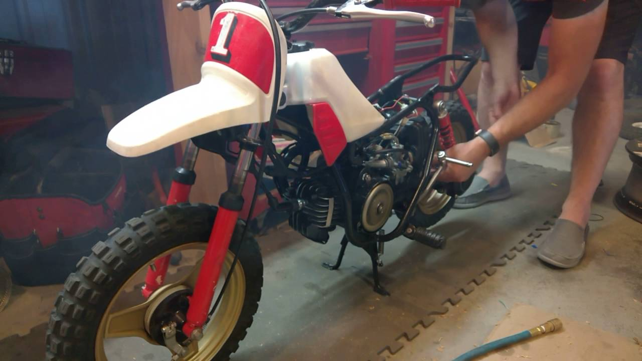 PW50 Won't Rev: Solved - it was the restriction plate in the exhaust