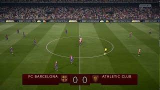 fc barcelona vs athletic bilbao  copa del rey  11 01 2017 fifa 17 predict   by pirelli7