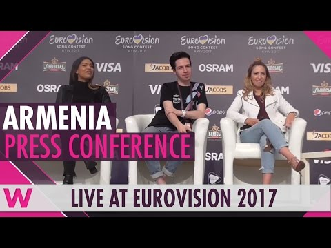"Armenia Press Conference 2 — Artsvik ""Fly With Me"" Eurovision 2017 