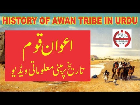 History of Awan Tribe in Urdu | Awan qum ki tareekh | اعوان قوم کی تاریخ