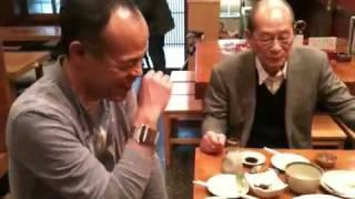 降旗監督と田中要次さん、ぽっぽやコンビ再会でした。監督、素敵なお話ありがとうございました!