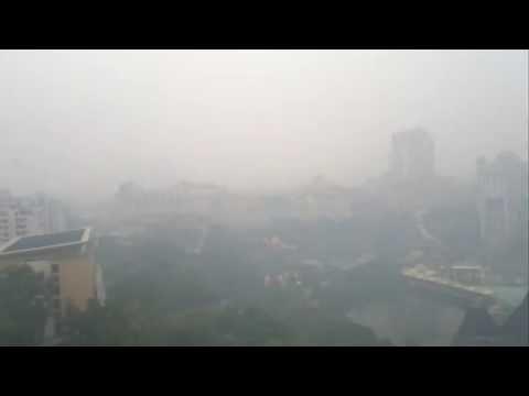 Cмог в Малайзии (Smog in Malaysia)