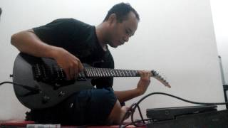 Lead guitar cover sting - shape of my heart