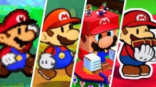 Evolution of Paper Mario (2000 - 2018)
