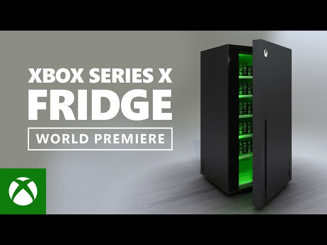 Microsoft Made An Xbox Series X Fridge That It S Giving Away The Verge