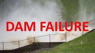 Edenville Dam Dam Failure