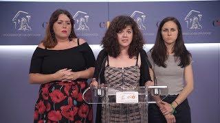 Declaraciones tras la puesta en libertad provisional a los miembros de 'La Manada'