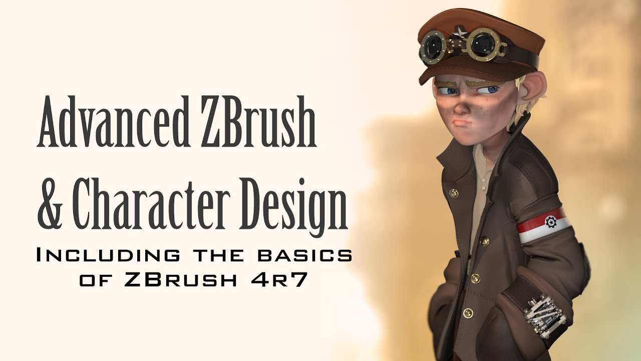 Character Design Zbrush Tutorial : Advanced zbrush and character design youtube