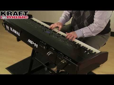 Kraft Music - Kawai MP11 Digital Stage Piano Demo