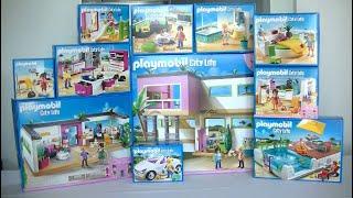 Unboxing Playmobil Fr La Maison Moderne 2014 5574 5575 5576 5577 5579 5582 5586 Youtube